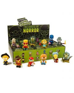 "Kidrobot The Simpsons Treehouse of Horror Blind Box 3"" Figure"