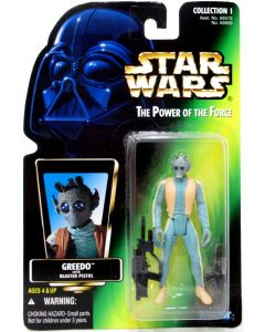 "Kenner Star Wars Power of the Force Greedo 3.75"" Figure"